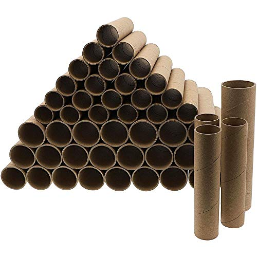 Bright Creations Rolls Tubo de cartón marrón de Papel Craft (50 Pack)