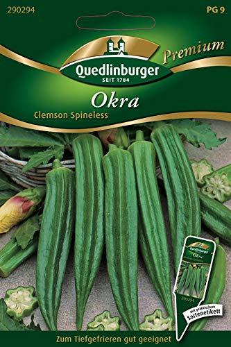Okra, Abelmoschus esculentum, ca. 15 Samen
