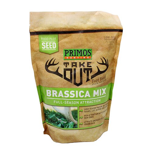 Primos Take Out Brown Seed Brassica Blend 1.5 lb, Bag