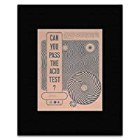 The Greatful Dead Movies Neal Cassady - Can You Pass The Acid Test San Francisco Rock 1966 Mini Poster - 25.4x20.3cm