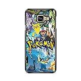 Coque pour Samsung Galaxy A7 2017 (A720) Pokemon go Team Pokedex Pikachu Manga Tortank Game Boy...