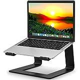 MOEVERT Soporte Portatil, Ergonómico Soporte para Ordenador Portátil Aluminio Soporte para Laptop Portátil Desmontable Laptop Stand para 13-17' Laptop MacBook Air/Pro, DELL, HP, Lenovo, Acer
