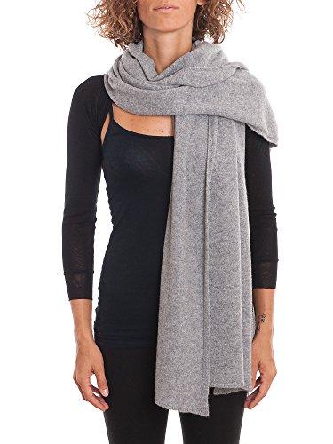 DALLE PIANE CASHMERE - Stola aus 100% Kaschmir - für Frau, Farbe: Grau, Einheitsgröße