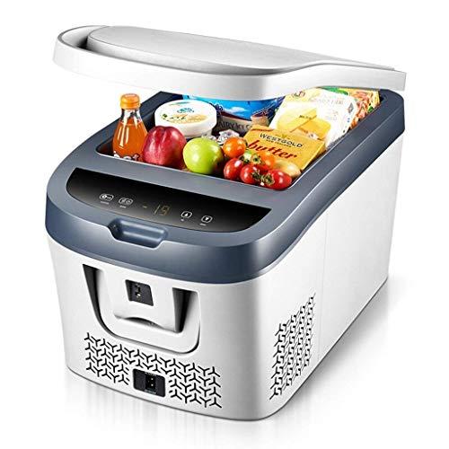 Preisvergleich Produktbild MYPNB Baukompressor Fridge Freezer Dual-Use-elektrische Kühlbox kühlen und warmen DC / AC-Adapter Große Capacit for Camping,  Wohnwagen,  Picknick und Feste (Color : Car and Home 220v)