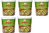 Mae Ploy Tarro de pasta tailandesa al curry verde, 5 unidades, 0,4 kg