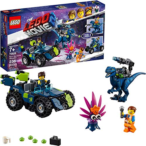 LEGO THE LEGO MOVIE 2 Rex's Rex-treme Offroader! 70826 Dinosaur Car Toy Set For Boys and Girls, Action Building Kit, 2019 (230 Pieces) -  6250814