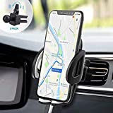 IZUKU Supporto Auto Smartphone Porta Cellulare Auto Universale [Versione Migliorata 2 Clip] 360 Gradi di Rotazione per Telefono iPhone11/X/8/7/6, Samsung S9/8/7, Xiaomi, Huawei e GPS Dispositivi