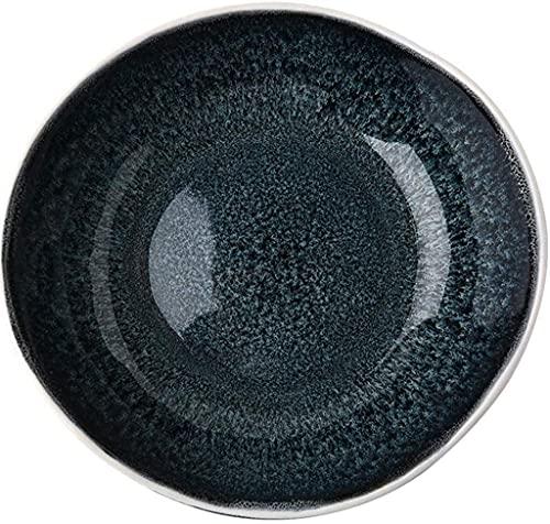 fenglei Müslischalen-Set Schüsseln Keramikschale Keramik Familie Nudelschale Bibimbap Schüssel Obst- und Gemüsesalatplatte Lebensmittelutensilien 19-20,5 cmx5.8cm Nudelschalen