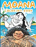 Moana Coloring Book: Moana Coloring Books For Adults And Kids Relaxing