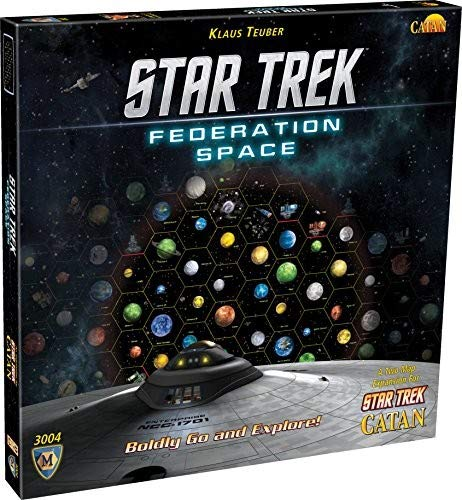 [UK-Import] Star Trek Catan Federation Space Map Set