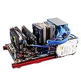 Carcasa abierta para PC, marco de aleación de aluminio mini bricolaje abierto ATX Motherboard Chasis para computadora de PC, diseño de marco abierto tiene buen rendimiento de disipación de calor, se e