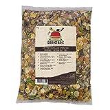 SeedzBox Le Délicieux Mélange Complet Spéciale Repas pour Hamsters Nains/Russes, Souris et Gerbilles - Graines/Céréales Naturelles - Aliments Idéals, Nourriture Variée, Saine et Équilibré, Sac d'1kg