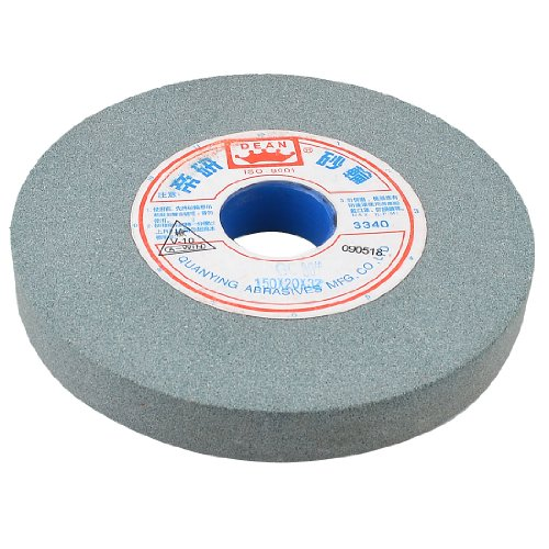 uxcell 3340RPM 5 7/8 inches x 1 1/4 inches x 3/4 inches Abrasives Grinding Wheel Cutting Tool Green