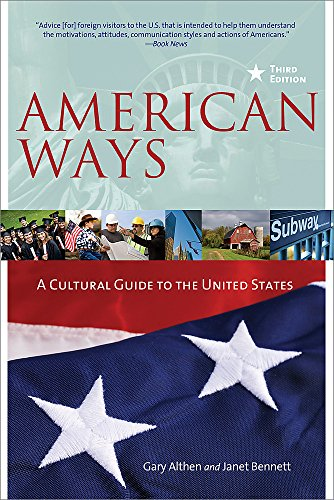 American Ways: A Cultural Guide to the United States of...