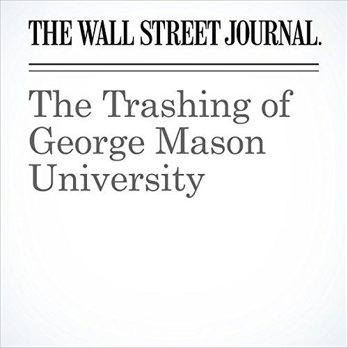 The Trashing of George Mason University copertina
