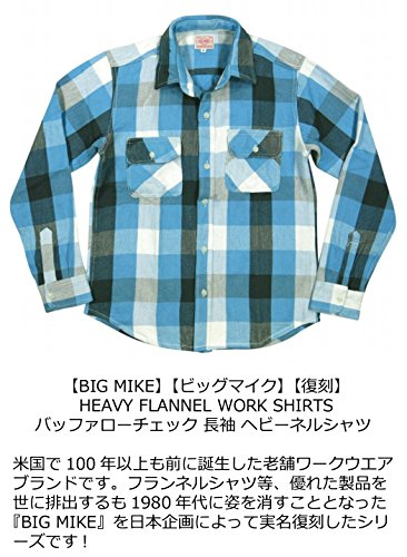 BIGMIKE『復刻HEAVYFLANNELWORKSHIRTS』