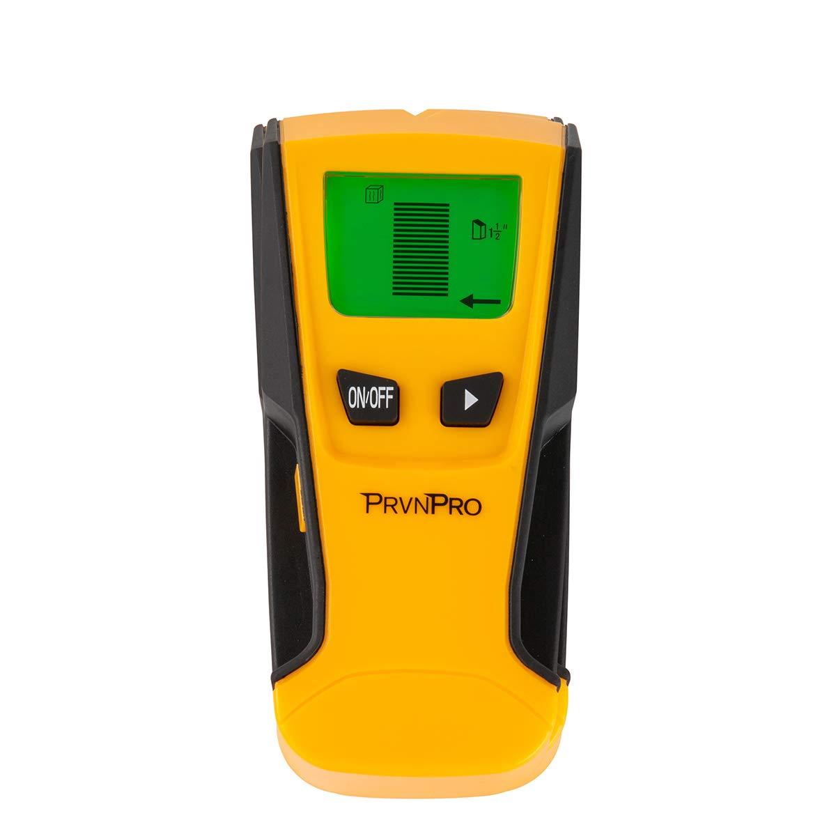 PrvnPro Stud Finder Wall Sensor Tool, Detects Wood, Metal and Alternating Currents