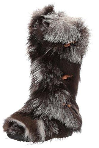 Pajar Women's Insbrook Boot, Black/Silver Fox, 36 EU/5-5.5 M US