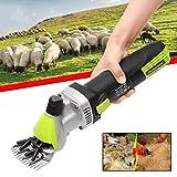 CGOLDENWALL Electric Sheep Clipper 500W Animal Shearing Supplies Goat Alpaca Farm Cut Machine