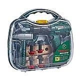 Josietomy 16 herramientas para niños, juego de herramientas para niños, set de herramientas para reparación eléctrica, mochila para guardar los niños, juego de rol, regalos para niños y niñas