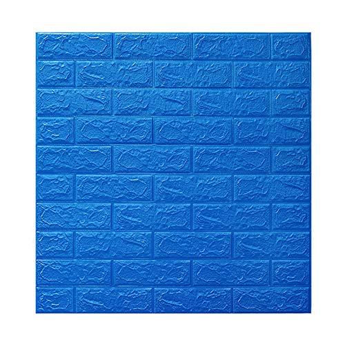 ZQDL Adhesivos 3D para pared autoadhesivos de papel pintado para pelar y pegar paneles de pared 3D para sala de estar