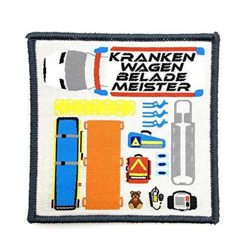 polizeimemesshop Krankenwagenbelademeister Patch II Textil Patch