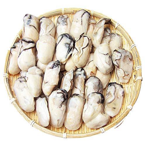 長崎旬彩出島屋 広島産 加熱用ジャンボ生剥き牡蠣1kg(解凍後850g前後) 冷凍