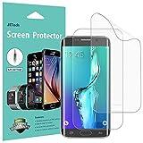 JETech Film de Protection d'écran pour Samsung Galaxy S6 Edge Plus, TPE HD Clair, Lot de 2