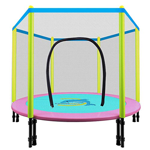 Vouwen Trampoline Huis Children's Indoor Bouncing Bed volwassen familielid Beschermende Net Jumping Bed