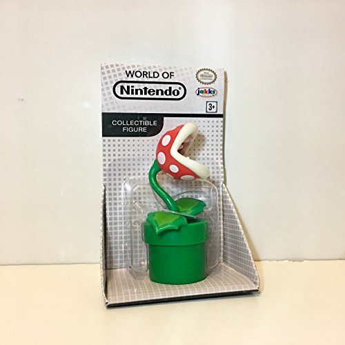 World of Nintendo 2.5' Piranha Plant Figure