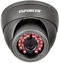 Seco-Larm EV-Y2201-A2GQ ENFORCER 4-in-1 HD TVI, CVI, AHD, Analog Fixed Rollerball Camera, Gray, 1/2.7