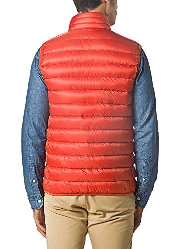 XPOSURZONE Men Packable Lightweight Down Vest Outdoor Puffer Vest Blazing Orange 1X