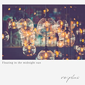Floating in the midnight sun