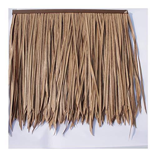HOME-MJJ Palm Thatch Runner Roll Simulation Thatch Kunststoff Strohdachziegel, PVC Holzhaus Pavillon, Fake Stroh, natürliche Dachdekoration,Fireproof Kunststoff Stroh Dachdekoration