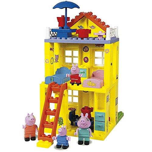 Casa de Peppa Pig de bloques de construcción (Simba 6063439