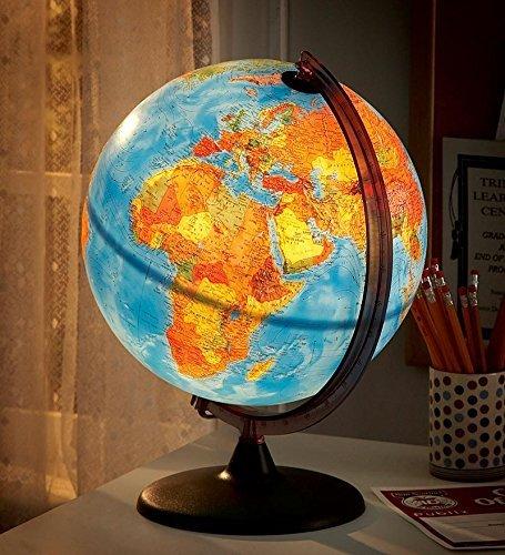 Electric Illuminated Detailed Educational Geographic