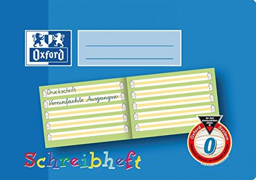 Hamelin Paperbrands Oxford 311501617 - Lote de 10 libretas de líneas (DIN A5 horizontal, 16 hojas, con margen)