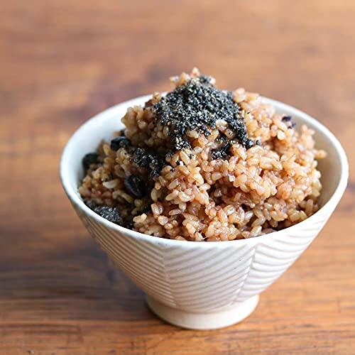 結わえる寝かせ玄米ごはん24食セット6種ミックス(小豆/黒米/はと麦/もち麦/十五穀/胚芽押麦)レトルト詰め合わせ玄米パック[メーカー限定/ごま塩付き]