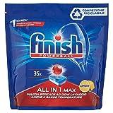 Finish Detergente per Lavastoviglie Powerball All in One Max, 35 Pastiglie, 560g