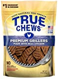 True Chews Dog Treats Premium Grillers Chicken Jerky 12oz Made in USA (1 Pack)