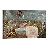 LIUSHUANG El Greco Gemälde Blick und Plan von Toledo