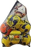 Don RED Extra Large 10 Balls Sports Drawstring Mesh Ball Bag Football Training Equipment Storage Bag Diving Goods Organizer