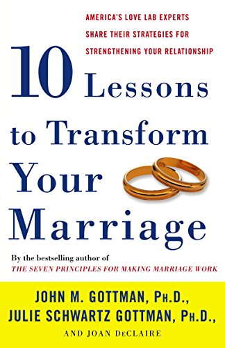 Ten Lessons to Transform Your Marriage: America's Love Lab Experts Share Their Strategies for Streng