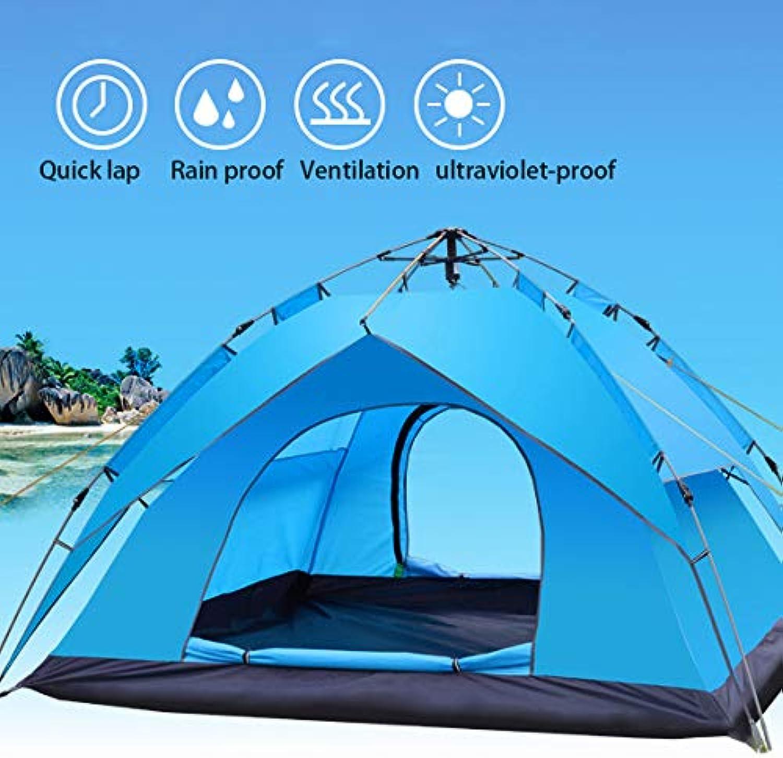 DLH Zelt, Frühlingszelt im Freien - Doppelzelt - Campingzelt - 3-4 Personen Zelt