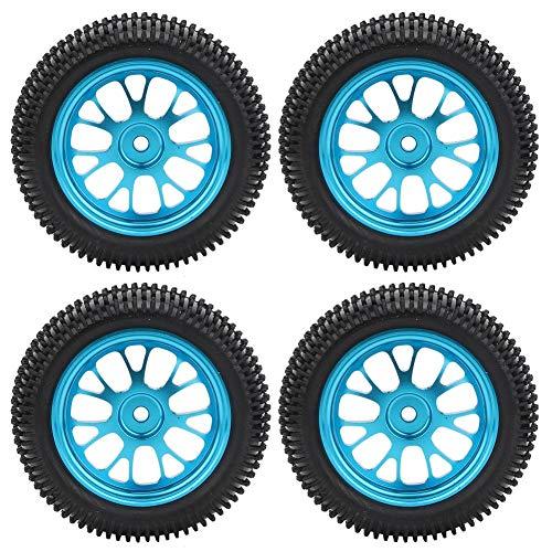 Dilwe RC Truck Car Reifen, 1/8 RC Rubber Tyres Rad Reifen Mesh für WL A959 A979 A969 RC Crawler Car Model