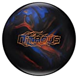Columbia 300 Nitrous Bowling Ball, Black/Blue/Bronze, 15 lb