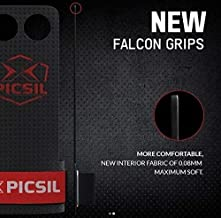 PICSIL Falcon Grips 2&3 Holes, Hand Grips for Men, Hand Grips for Women, Pullup Grips. RX, New line of, Hand Grips,Crossfi...