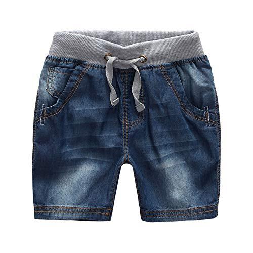 De feuilles Baby Jungen Jeansshorts Kurz Hose Jeans Shorts Jeanshose Kurzhose Sommerhose Strandhose