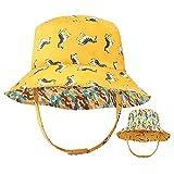 Sombrero de Cubo para niños pequeños Protección Solar Sombrero de...