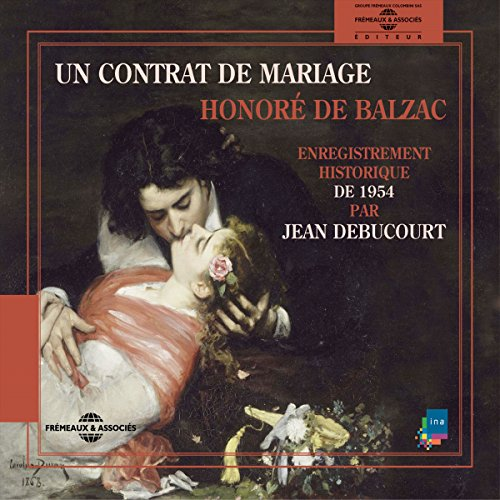 Un contrat de Mariage audiobook cover art